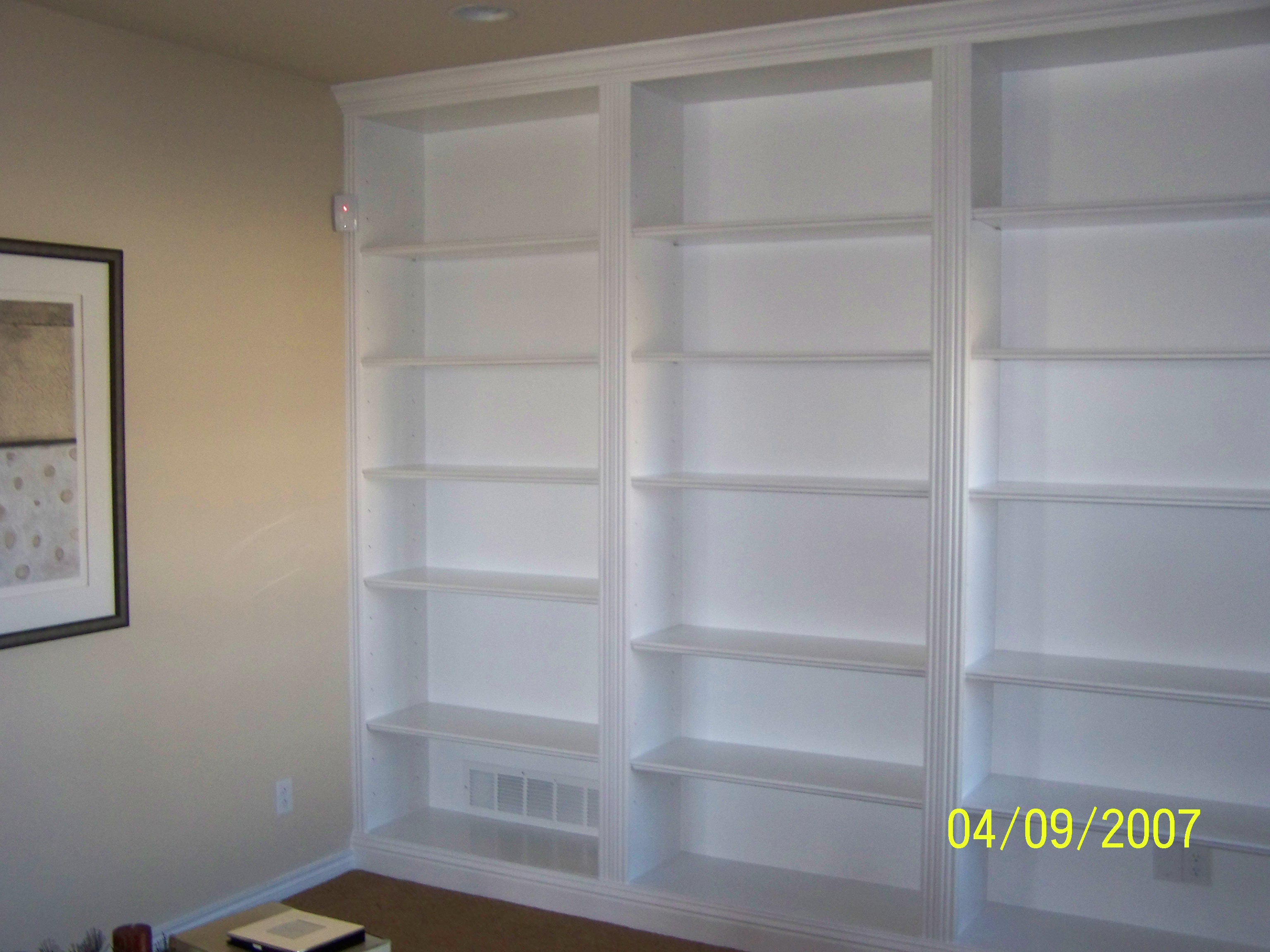 Custom Built Bookshelves
